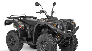 Квадроцикл Baltmotors ATV 400 EFI черного цвета