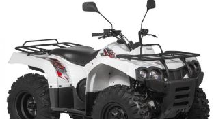 Квадроцикл Baltmotors ATV 400 EFI белого цвета