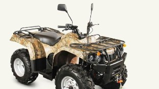 Квадроцикл Baltmotors ATV 400 EFI перед эксплуатацией