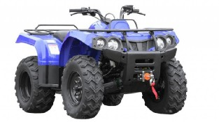 Квадроцикл Baltmotors ATV 400 EFI синего цвета